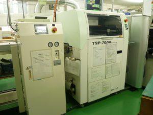 TSP-700V クリーム半田印刷機